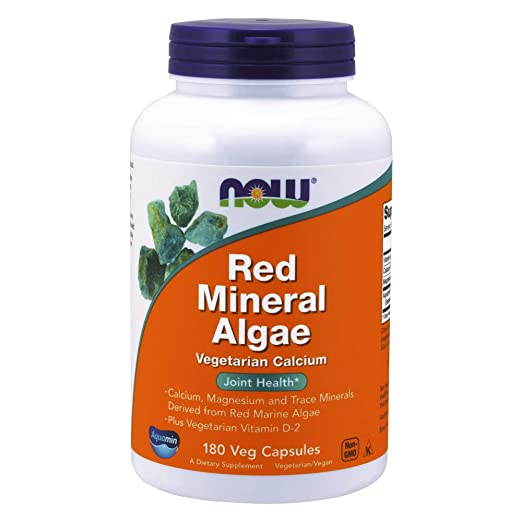 Now Supplements Red Mineral Algae