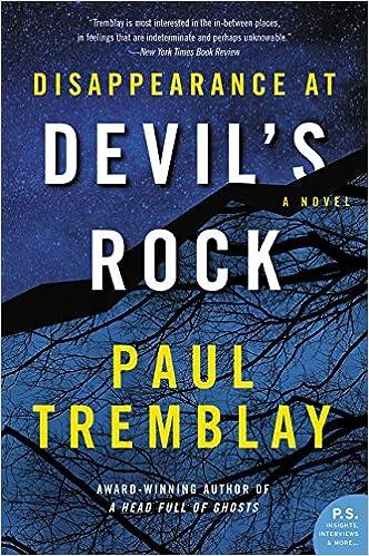 Disappearance at Devil's Rock: A Novel: Tremblay, Paul: 9780062363275:  Books - Amazon.ca