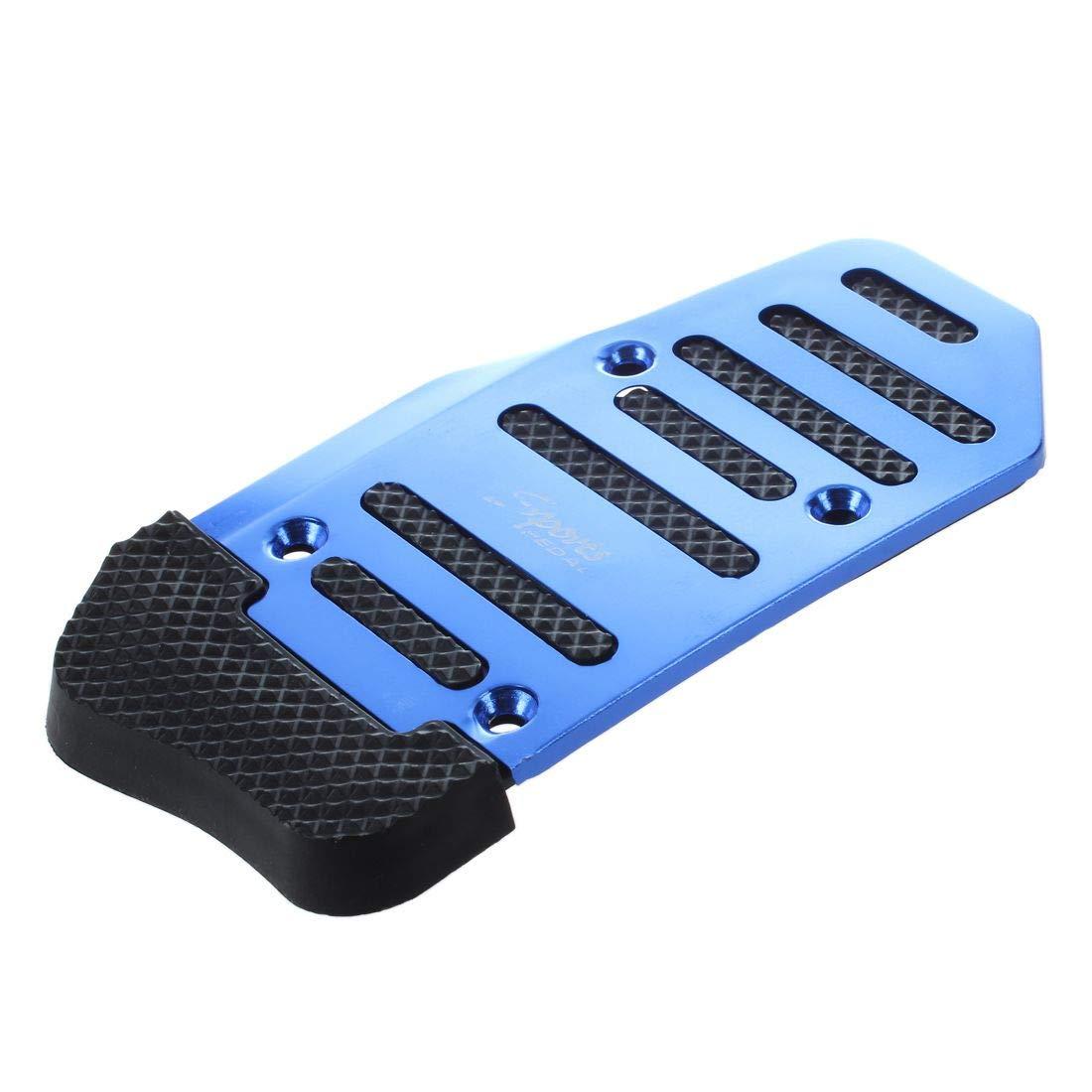 Gaoominy 2pzs Azul Negro Cubiertas para Pedales de Freno de Gas AT automatico de camion Coche Antideslizante