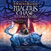 The Sword of Summer: Magnus Chase and the Gods of Asgard, Book One Audiobook by Rick Riordan Narrated by Christopher Guetig