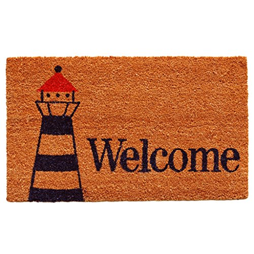 Home-More-122181729-Lighthouse-Welcome-Doormat-Multicolor