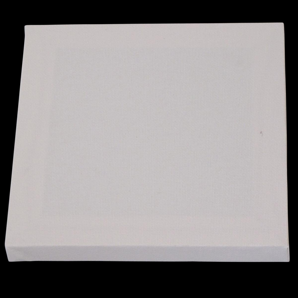 15cm x 15cm Flat Canvas 6 x 6 Set of 12 Artists Blank Canvas