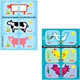 Shoezooz Educational Shoe Stickers for Kids