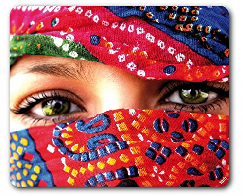 Price comparison product image Women Mouse Pad - Arab Eyes (9 x 7 inches)
