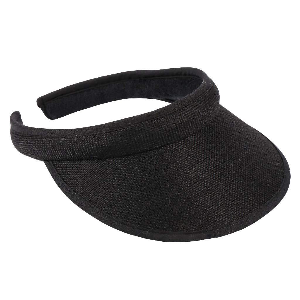 UJUNAOR Unisex Child Visor Fashion Summer Outdoors Baseball Cap Snapback Adjustable Sun UV Protection Hat