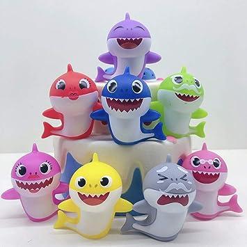 Amazon.com: CheeseandU - Figuras de tiburón para decoración ...