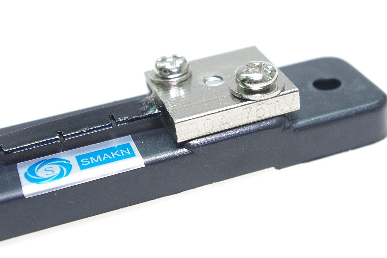 SMAKN/® Metal Shunt Resistor for DC 30A 75mV Current Ammeter Analog Panel Meter