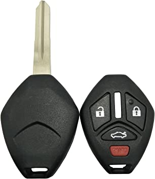OUCG8D-620M-A Key Fob Shell fits Mitsubishi Galant Eclipse Lancer Case /& Pad