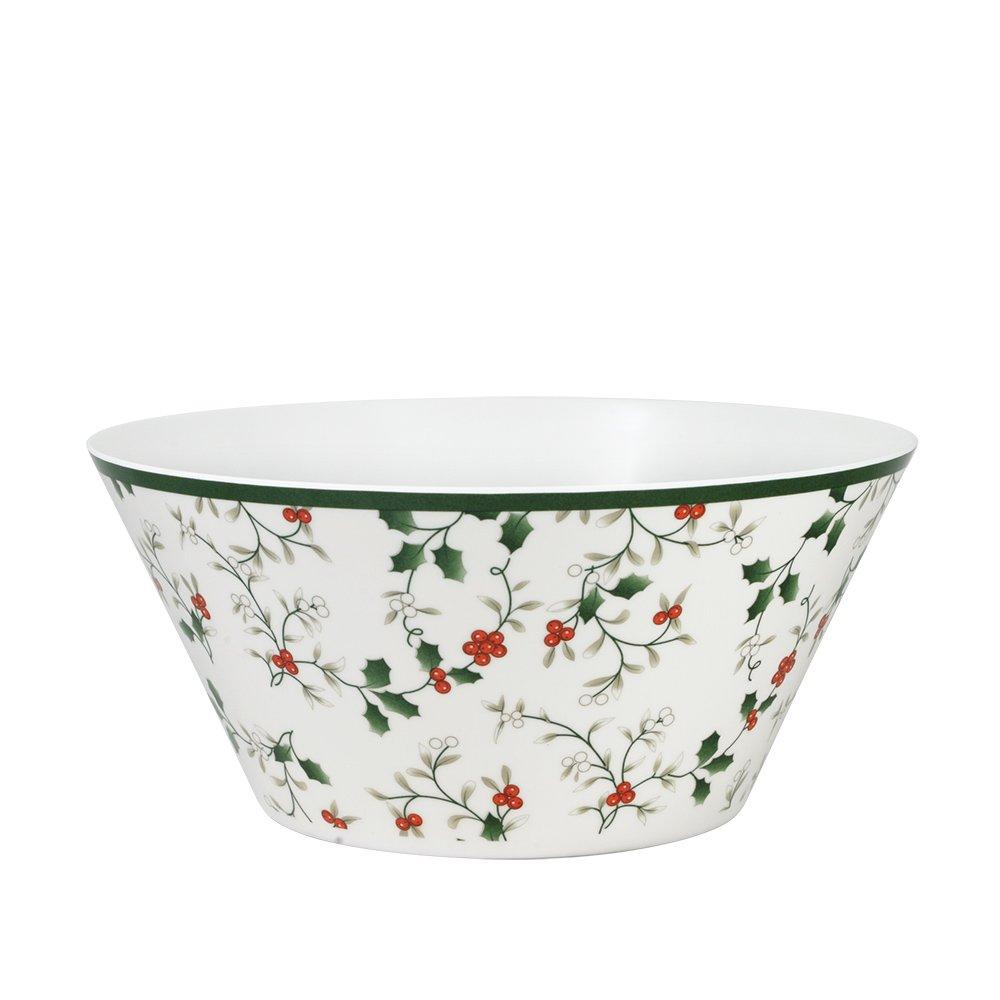 Pfaltzgraff Winterberry Melamine Serving Bowl, 3-1/2-Quart
