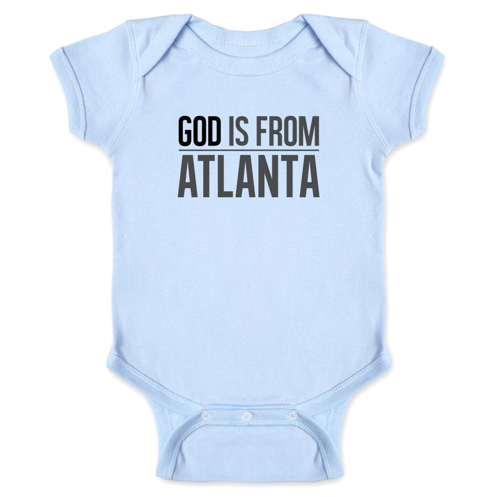 Pop Threads God is from Atlanta Infant Bodysuit by 1074-201