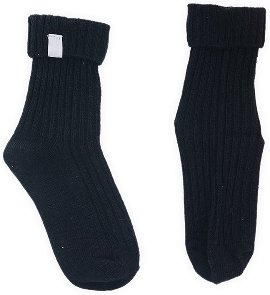 1 to 6 Pairs Assorted Boys Cotton Ribbed Tag Ankle Socks in 7 Colours UK Sizes 6 to 3.5