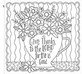 Colorful Blessings: A Coloring Book for Grown-Up Girls from The Coloring Cafe
