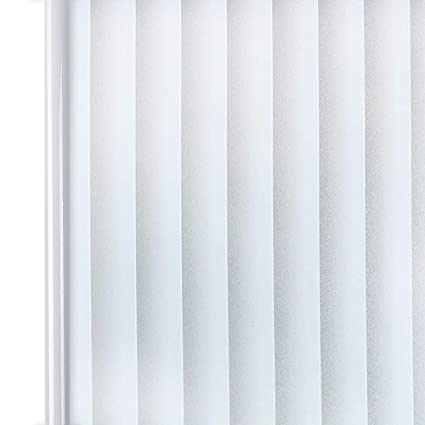 Stupendous Homein Privacy Frosted Window Film Blind Stripe Pattern 90X200Cm Self Adhesive Glass Frosting Film Static Cling Anti Uv Reusable Opaque Blackout Interior Design Ideas Tzicisoteloinfo
