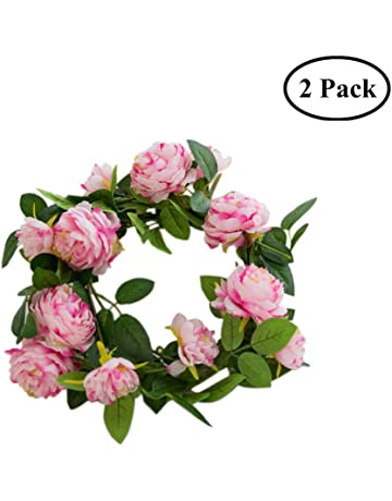 Amazon Artificial Flowers Home Kitchen