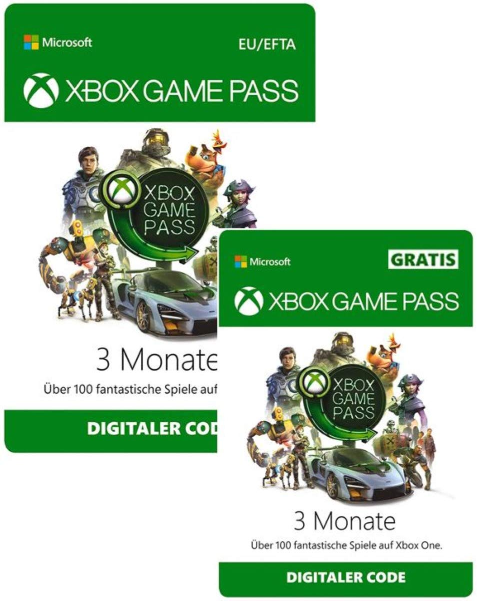 [amazon.de] Xbox Game Pass 3+3 mjeseca za 29,99€ i EA Access 1 godina za 19,99€