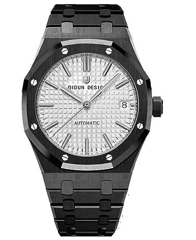 UhrwerkDidun Elegante Sportlich ArmbandMiyota Automatik Royal One Herren UhrSaphirglasMassives EDIH2W9