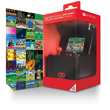 6df86a4018b4d Buy My Arcade - Retro Arcade Machine X Portable Gaming Mini Arcade Cabinet  with 300 Built-in Hi-res 16 bit Games Online at Low Prices in India -  Amazon.in