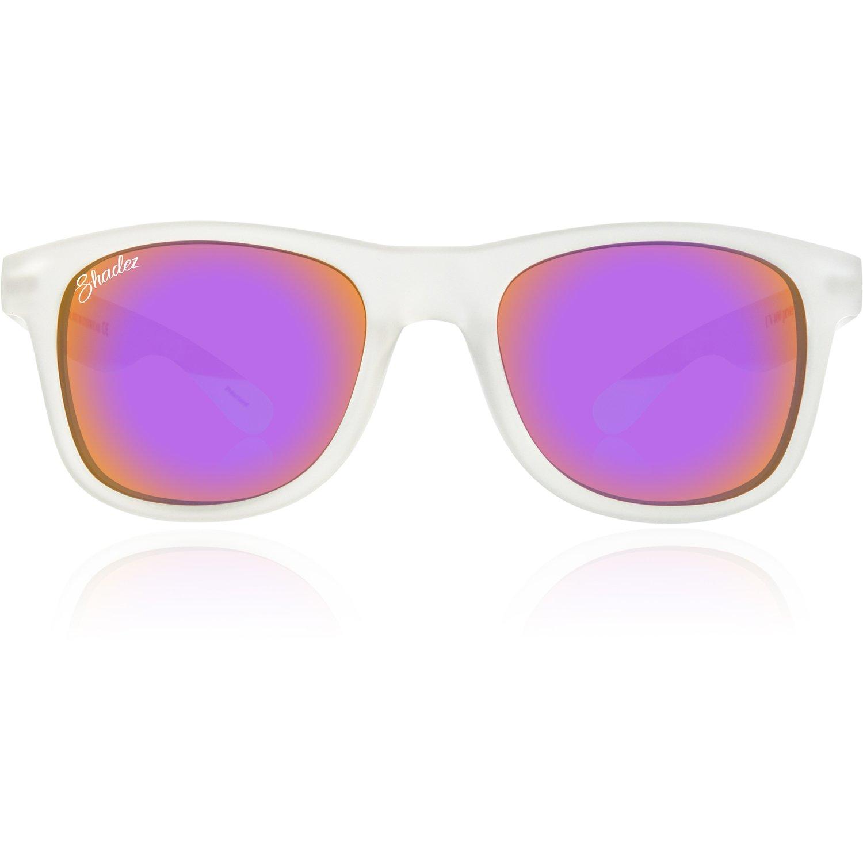 Shadez Shz 215 Lunettes de Soleil Polarisées Mixte Adulte, Transparent-Purple