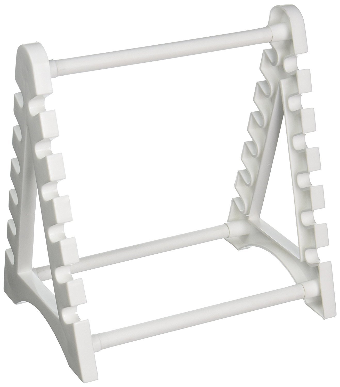 Horizontal Pipette Stand and Rack; Holds 12 Pipettes