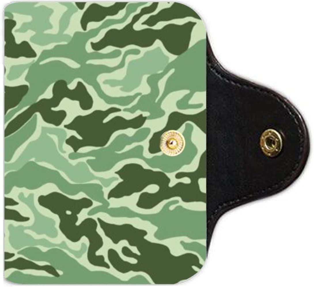 camouflage texture photo PU Leather office Business Card Holder PU Leather office Business Card Holder