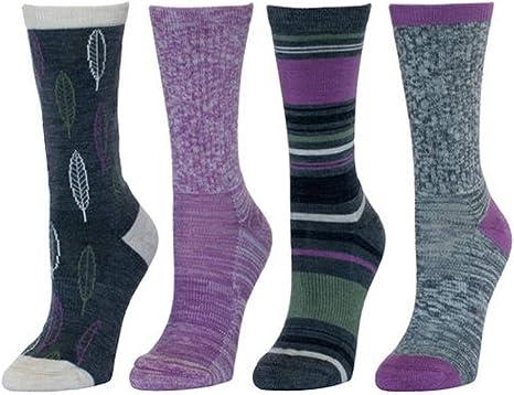 Ladies Angora Wool Blend Luxury Gift Set Thermal Outdoor Camping Socks 6 pairs