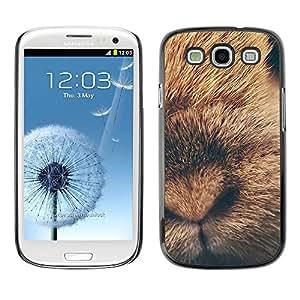 TopCaseStore / la caja del caucho duro de la cubierta de protección de la piel - Rabbit Baby Fur Animal - Samsung Galaxy S3 I9300