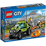 LEGO City 60121 - Set Costruzioni City Vulcano Camion Delle Esplorazioni Vulcanico