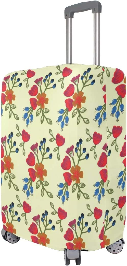18//22//26//29 Inch Travel Suitcase Luggage Protective Cover with Freesia