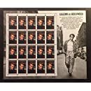 James Dean: Legends of Hollywood, Full Sheet of 20 x 32-Cent Postage Stamps, USA 1996, Scott 3082