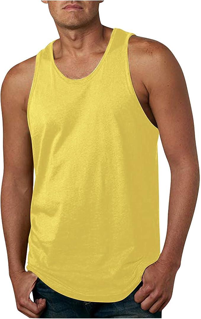 Herren Coole Sommerweste Ärmellose Top T Shirt Bodybuilding Shirts Kapuzenweste