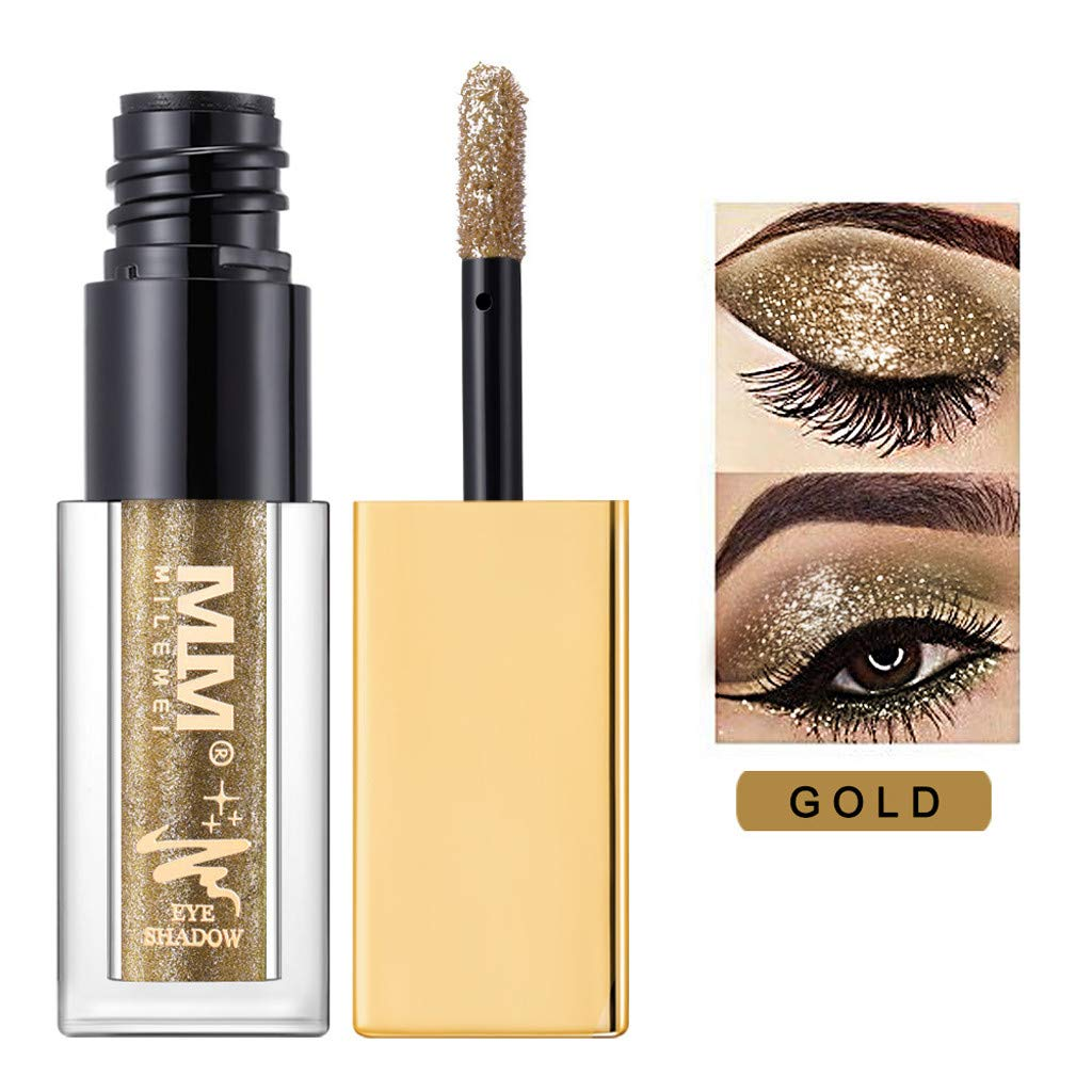 NOGOQU Glitter 36 Colors Eyeshadow Palette Beauty Makeup Shimmer Matte Eye Shadow (D)