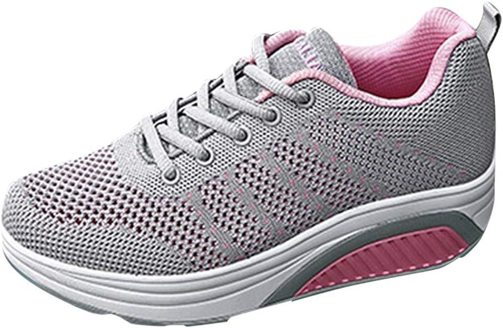 Bestow Suave Parte Inferior de Zapatos Casual de Suela Gruesa ...