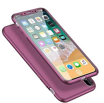 coque iphone 8 3 en 1 verre trempes