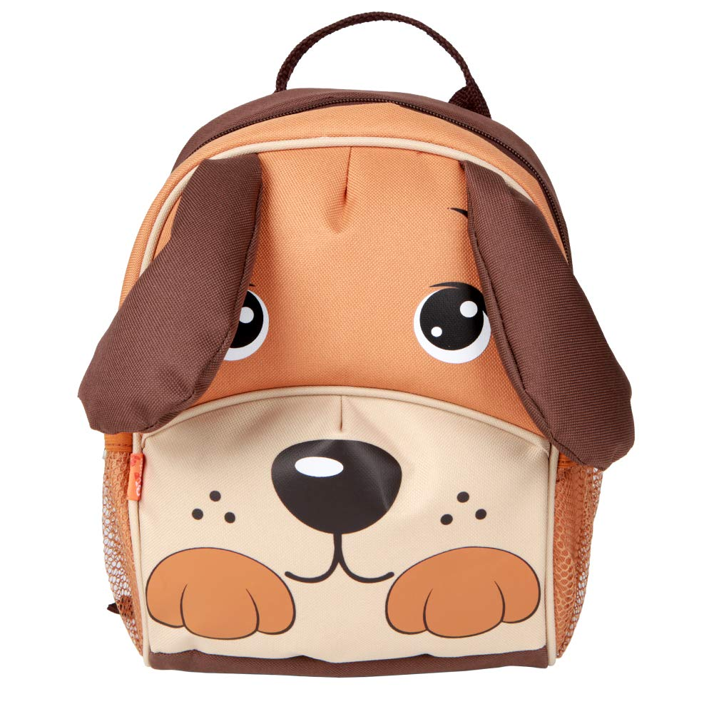 Yodo Kids Insulated Toddler Backpack with Safety Harness Leash and Name Label - Playful Preschool Lunch Boxes Carry Bag, Dog