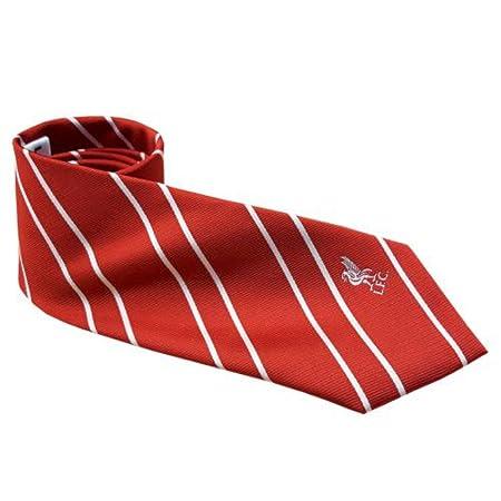Liverpool F.c, corbata de lazo Rs en el frente del bordado pequeño ...