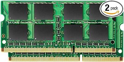2x4GB SO-DIMMs PC3-8500 Memory Module 8GB 1066MHz DDR3