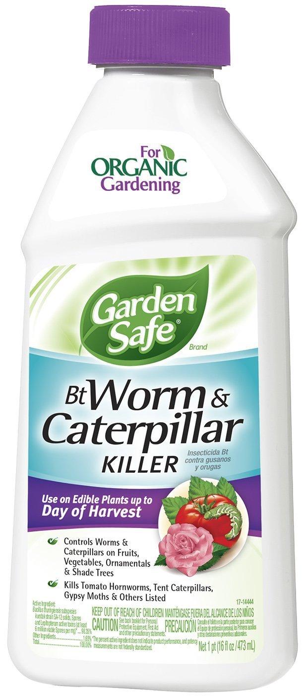 Garden Safe Bt Worm & Caterpillar Killer (Concentrate) (HG-93190) (Pack of 6)