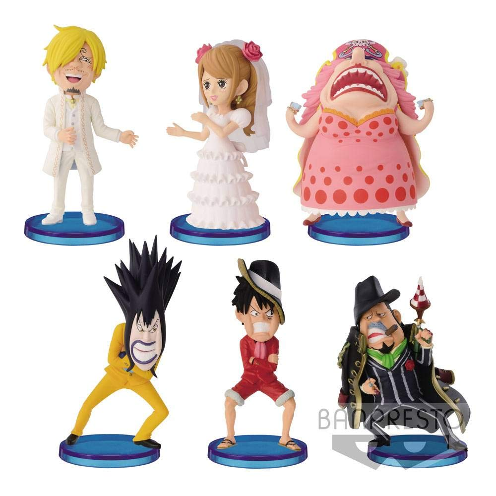 BANPRESTO One Piece WCF Chibi Figures 7 7 7 cm Assortment Hall Cake Island Vol. 2 (28) Mini 8b5857