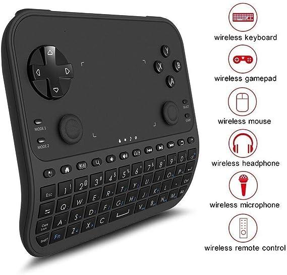 Rii RK707 Mini contrôleur de jeu sans fil pour clavier et