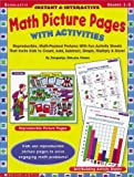 img - for Instant and Interactive Math Picture Pages with Activities: Reproducible, Math-Packed Pictures with Fun Activity Sheets That Invite Kids to Count, Add by Howes Jacquelyn Johnson (2000-11-01) Paperback book / textbook / text book