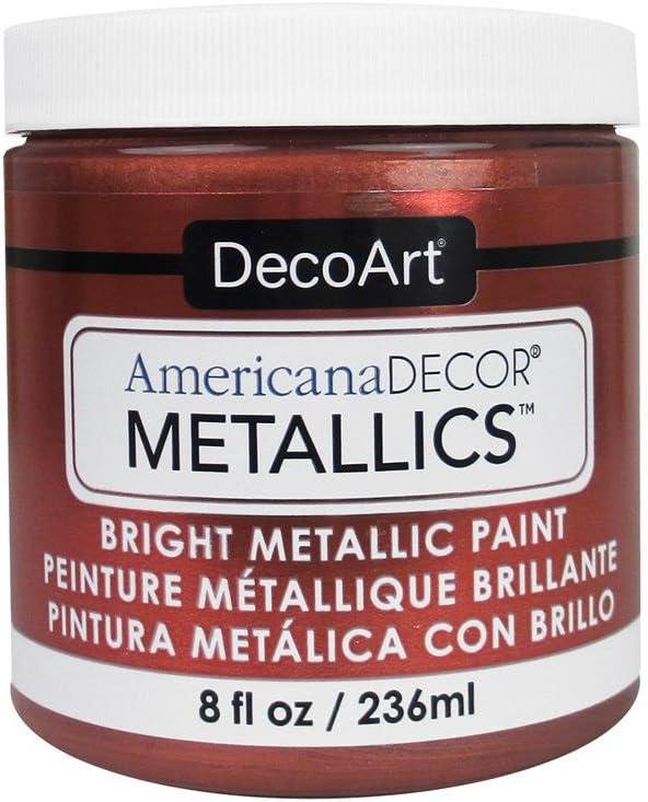 DecoArt Ameri Deco MTLC Americana Decor Metallics 8oz Copper