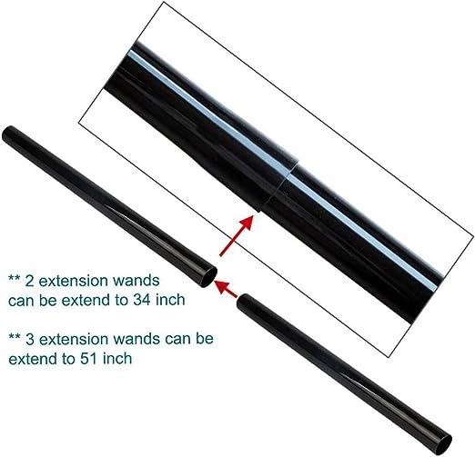 Accesorios de Aspiradora Timagebreze Varillas de Extensi/óN de Aspiradora de 3 Piezas Manguera de Vac/íO de 32 Mm de Di/áMetro Interior Tubo de Varilla de Pl/áStico