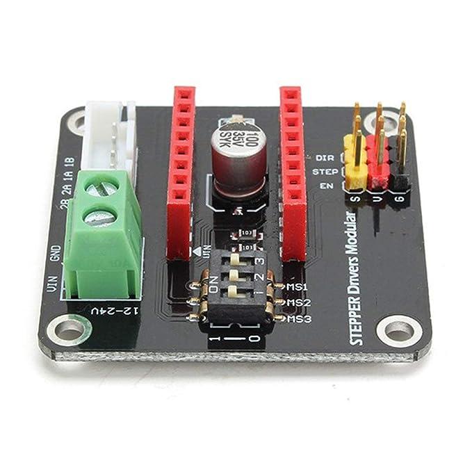 Driver Extension Shield DRV8825 / A4988 UNO R3 Motor Driver Shield ...