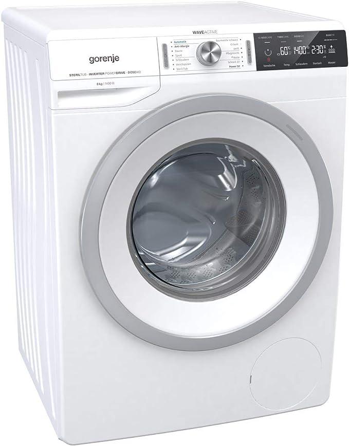 Gorenje wa844t lavadora, color blanco: Amazon.es: Grandes ...