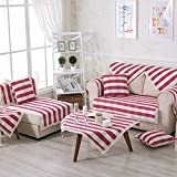 Sofa towel covers Pet couch cover Armchair slipcovers Slipcovers for couches and loveseats Sectional couch covers-C 110x210cm(43x83inch)