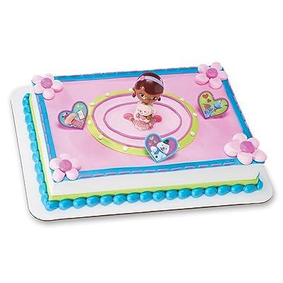 Decopac Doc McStuffins Doc and Lambie DecoSet Cake Topper: Toys & Games