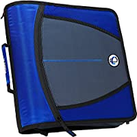 Case-it D-146-BLU Mighty Zip Tab 3