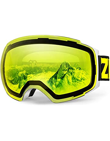 4097ce97241d Zionor X4 Ski Snowboard Snow Goggles Magnet Dual Layers Lens Spherical  Design Anti-Fog UV
