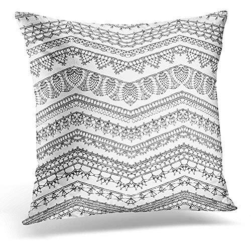 crochet edge pillow cases - 3
