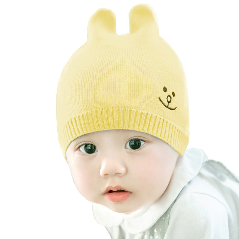 Urberry HAT ユニセックスベビー  AA4-Yellow B077CR1NR2